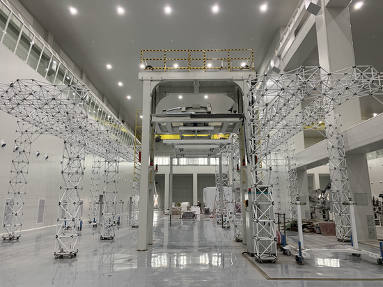 Smart satellite production line now operational in central China