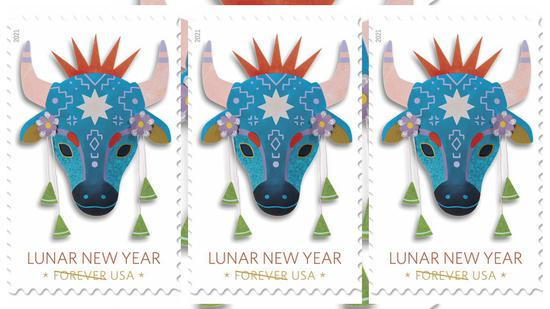 U.S. Postal Service to issue Year of the Ox stamps to usher in Lunar New Year