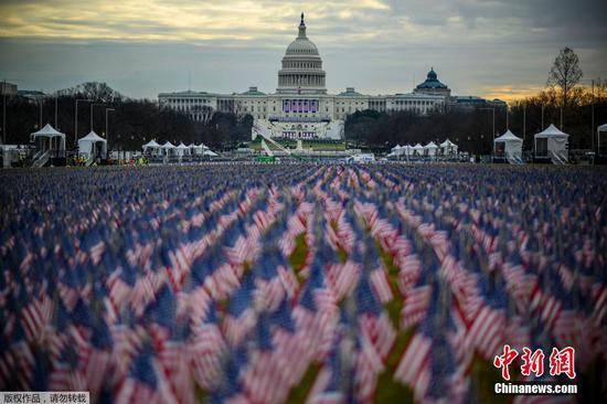 Washington DC prepares for Biden's inauguration