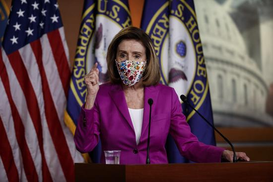 Pelosi says U.S. House committees to work on COVID-19 relief package next week