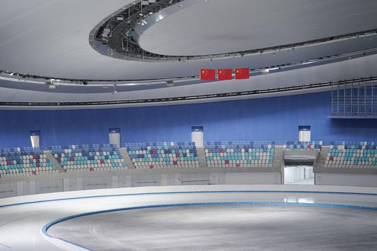 Beijing 2022 Winter Olympic speed skating venue completes ice making
