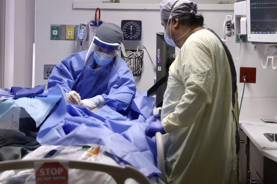 COVID-19 third leading cause of death in U.S. in 2020