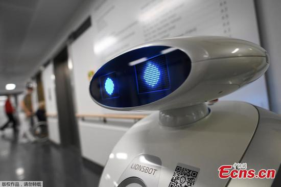 德国机器人帮助医院清洁