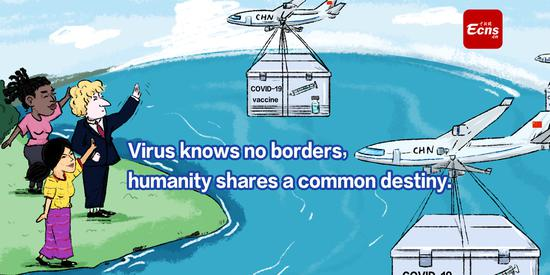 Virus knows no borders, humanity shares a common destiny