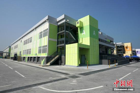 Temporary hospital on Hong Kong's Lantau Island to open on Feb. 26