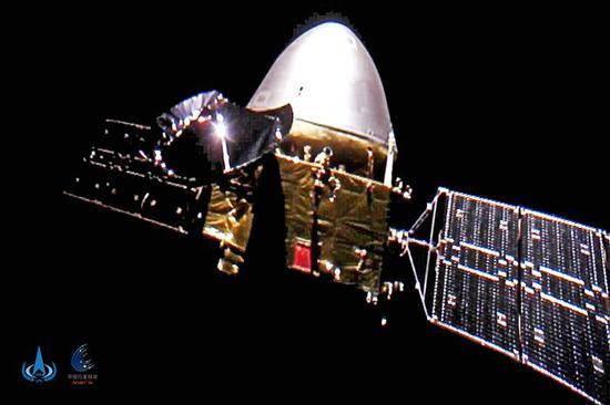 China's Tianwen 1 robotic probe set to enter Mars orbit