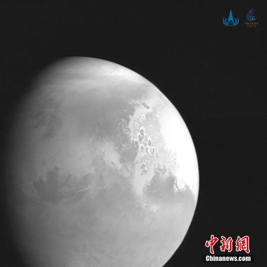 Tianwen 1 makes orbital correction as Mars arrival draws near