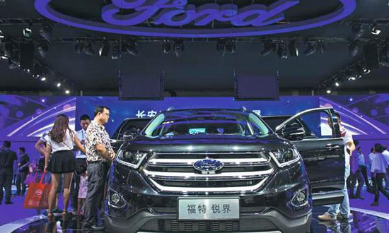 Ford to recall 2,290 Lincoln vehicles from China
