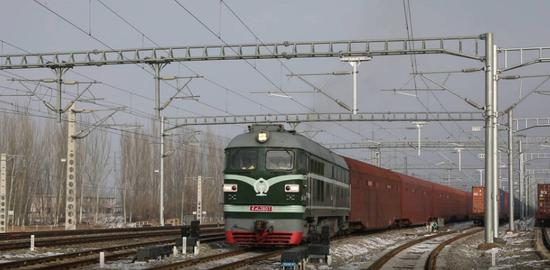 Over 200 Japan-made vehicles exported to Kazakhstan via freight train through China's Horgos