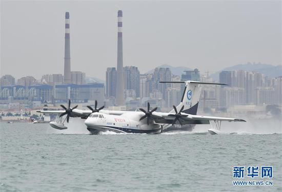 China advances development of AG600 large amphibious aircraft
