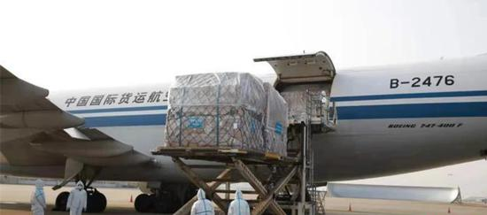 China sees growing air cargo transport in January