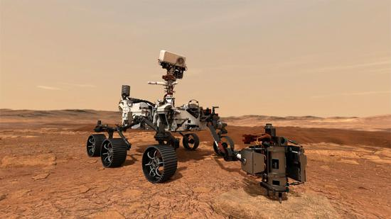 NASA's Mars helicopter sends back first report