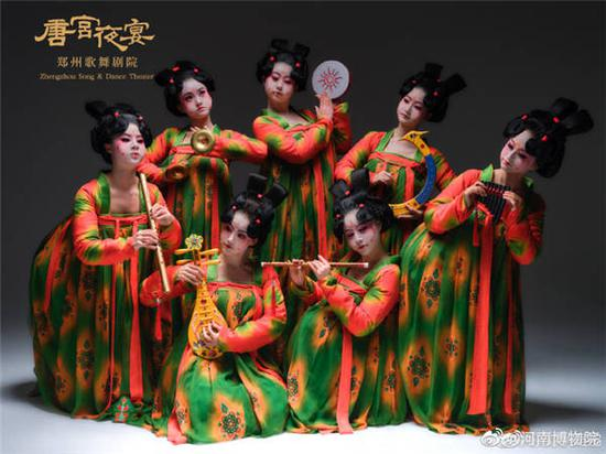 Dance show on Tang Dynasty wins hearts