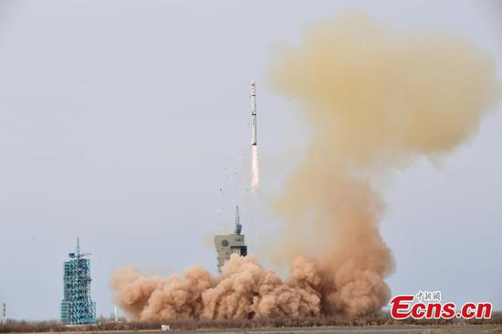 China launches new satellites to survey electromagnetic environment