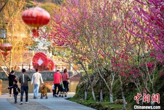 China logs 256 mln domestic tourist trips during Spring Festival holiday