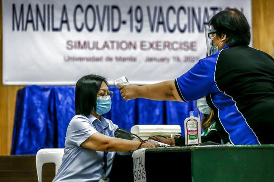 China-donated vaccines to arrive in Philippines on Sunday: embassy