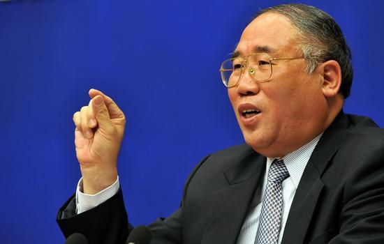 Xie Zhenhua, China's special adviser for climate change affairs. (Photo/Xinhua)