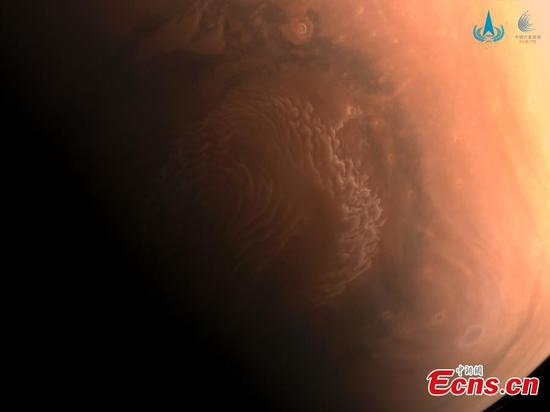 China releases first high-def pictures of Mars taken by Tianwen 1