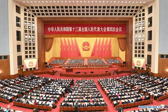 China's national legislature opens annual session