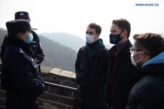 北京八达岭警察局警察的图片故事
