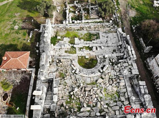 探索世界上最大的大理石城市之一的Stratonice