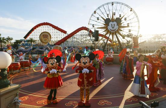 Disney theme parks in California expected to reopen next month, says CEO