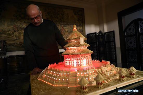 埃及建造了水果机的天坛,22,000火柴