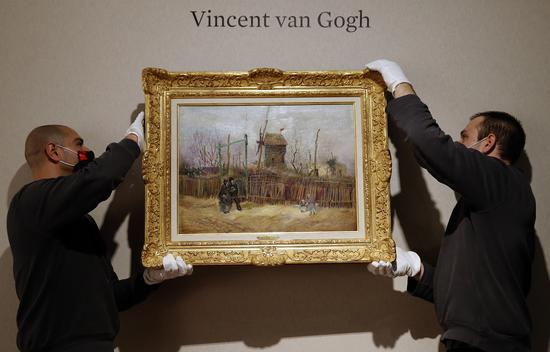 Vincent van Gogh painting expected to fetch 8 million euros