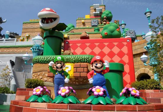 'Super Mario' comes to life at Super Nintendo World