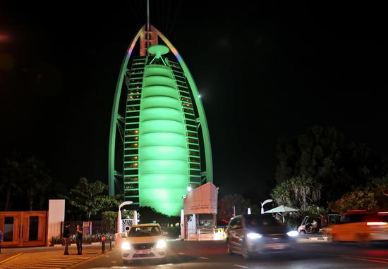 Landmarks around the world turn green in celebration of St. Patrick's Day