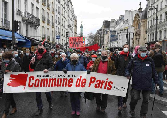 French people mark 150th anniversary of Paris Commune