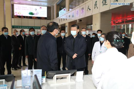 Health is primary indicator of people's happy life: Xi