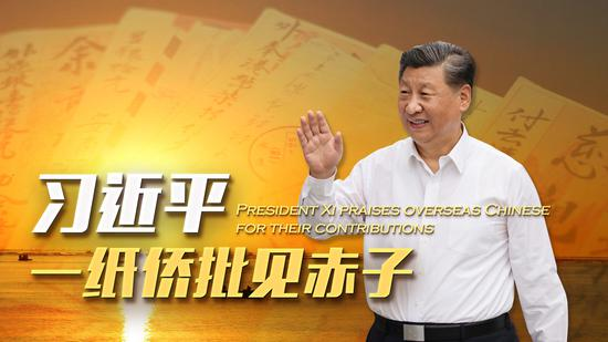 President Xi praises overseas Chinese for their contributions