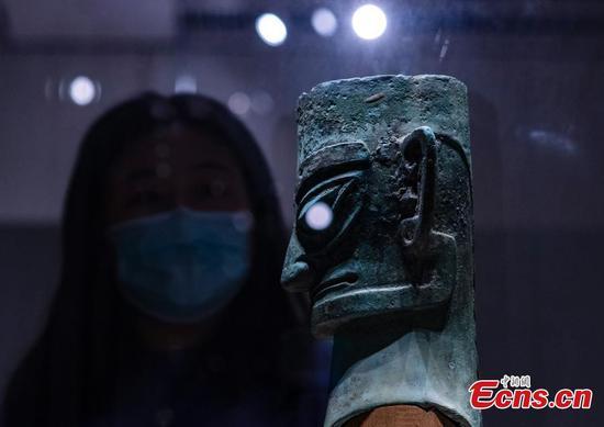 Sanxingdui Ruins的新发现导致向北京博物馆增加访客