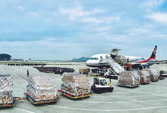 SF Airlines launches Wuhan-Hanoi int'l cargo route