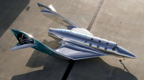 Virgin Galactic unveils new spaceship 'VSS Imagine'
