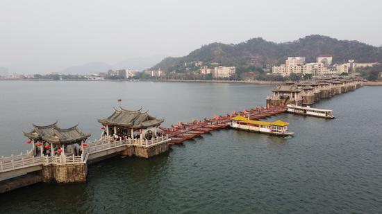 Guangji Bridge in Guangdong: Free to connect and disconnect