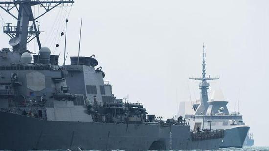 PLA resolutely opposes U.S. warship transiting Taiwan Straits: spokesperson