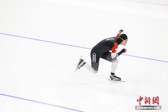 Speed skating for Beijing 2022 Winter Olympics tested at National Speed Skating Oval