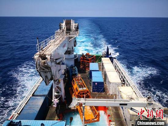 China breaks deep-sea sediment core retrieval record
