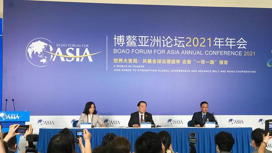 Boao Forum for Asia annual conference 2021 opens in Boao, south China's Hainan Province, April 18, 2021. Wang Tianyu/CGTN