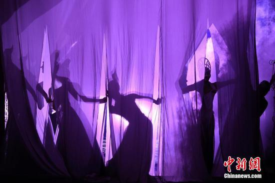 Stunning shadow performance staged at BFA Theme Park