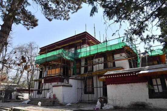 Tibet's heritage site Norbulingka undergoes new restoration