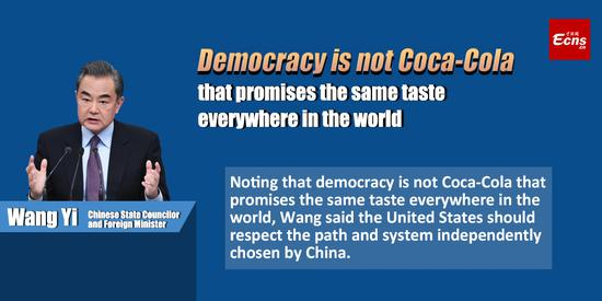 Democracy is not Coca-Cola that promises the same taste everywhere in the world