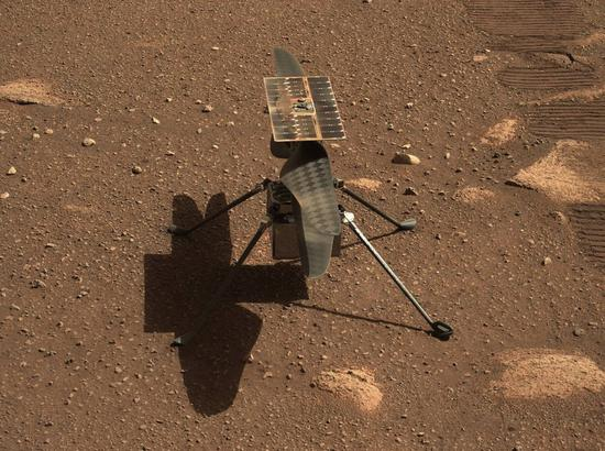 NASA's Ingenuity helicopter achieves faster, farther flight on Mars