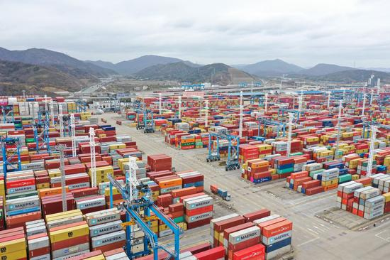 China emerges as global trade titan: UN agency