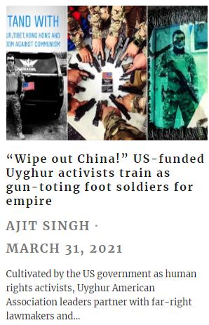 U.S.-funded Uyghur separatists trained as gun-toting foot soldiers: media