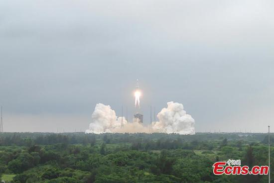 China launches space station core module 'Tianhe'