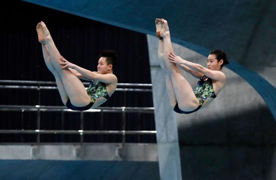 China claims first gold medal at FINA Diving World Cup in Tokyo
