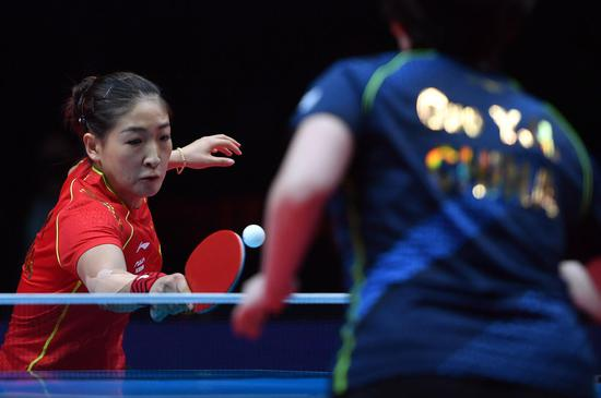 Chinese table tennis team tests squad ahead of Tokyo Olympics
